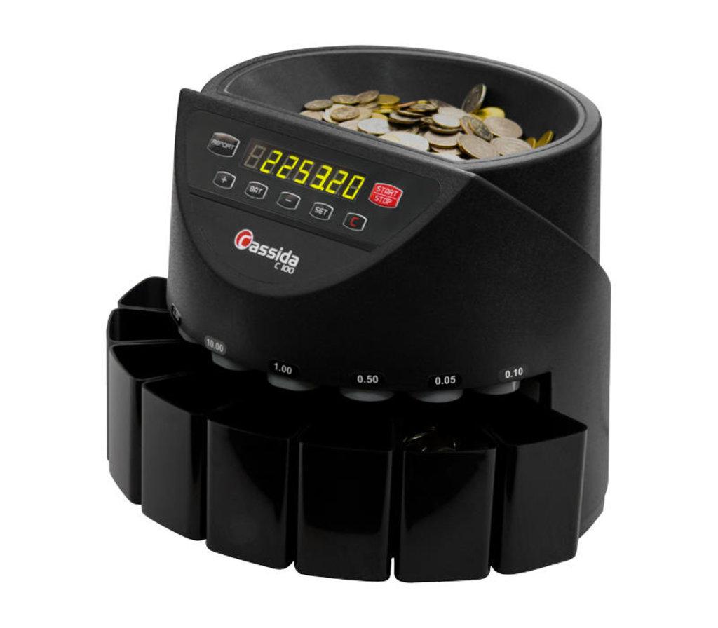 Сортировщики и счетчики монет: Cassida C100 Сортировщик монет в Рост-Касс