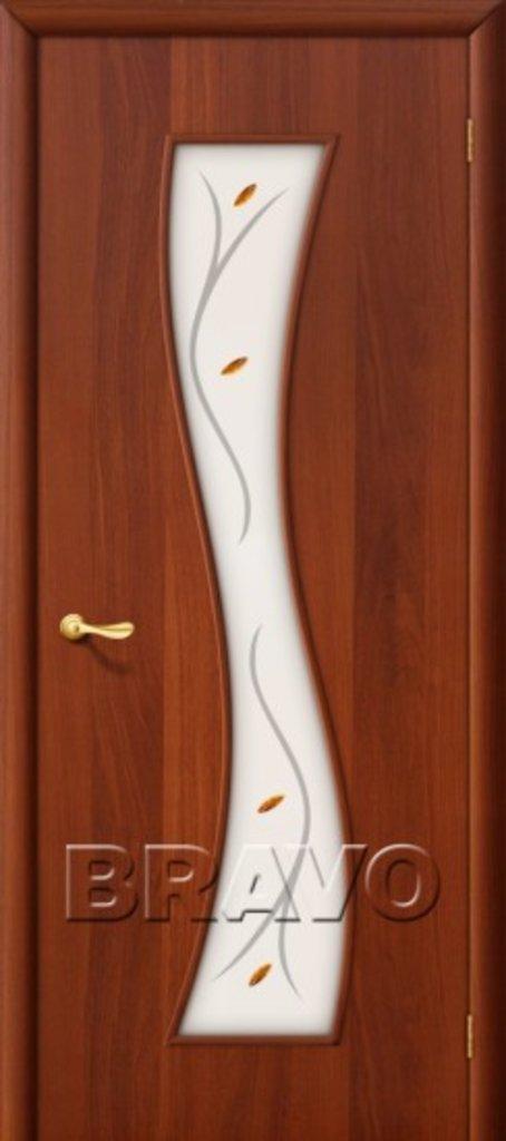 Двери ламинированные BRAVO: 11Ф Л-11 (ИталОрех) в STEKLOMASTER
