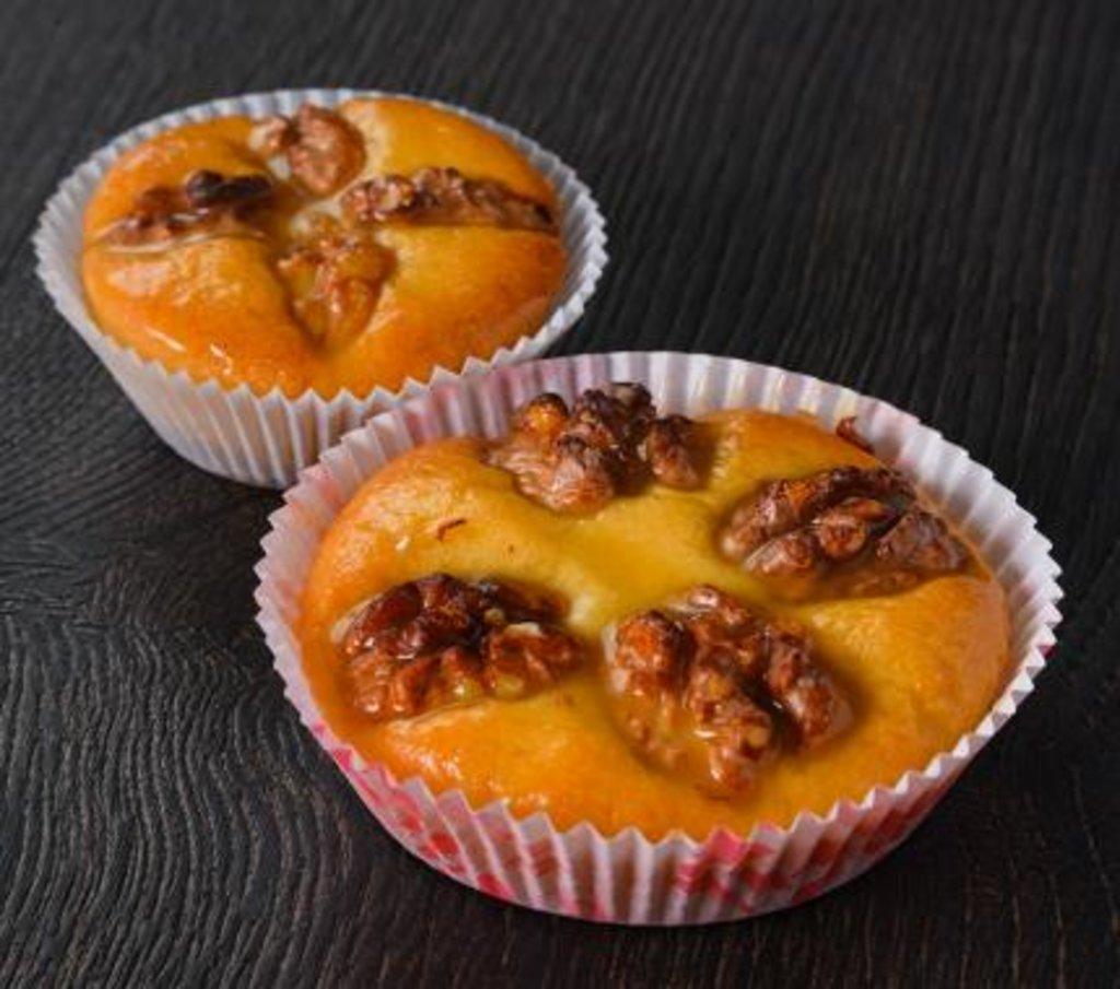 Пирожные: Песочное с грецким орехом в Царевы Пироги