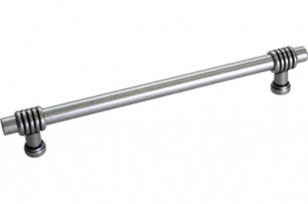 Коллекция РЕЙЛИНГИ: Ручка-скоба 160 мм, отделка античное железо в МебельСтрой