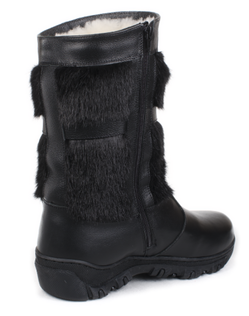 Обувь подростковая и детская: Унты подростковые черные, кожа, молния в Сельский магазин