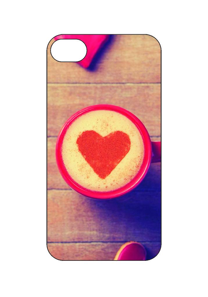 Выбери готовый дизайн для своей модели телефона: Cerdce в NeoPlastic