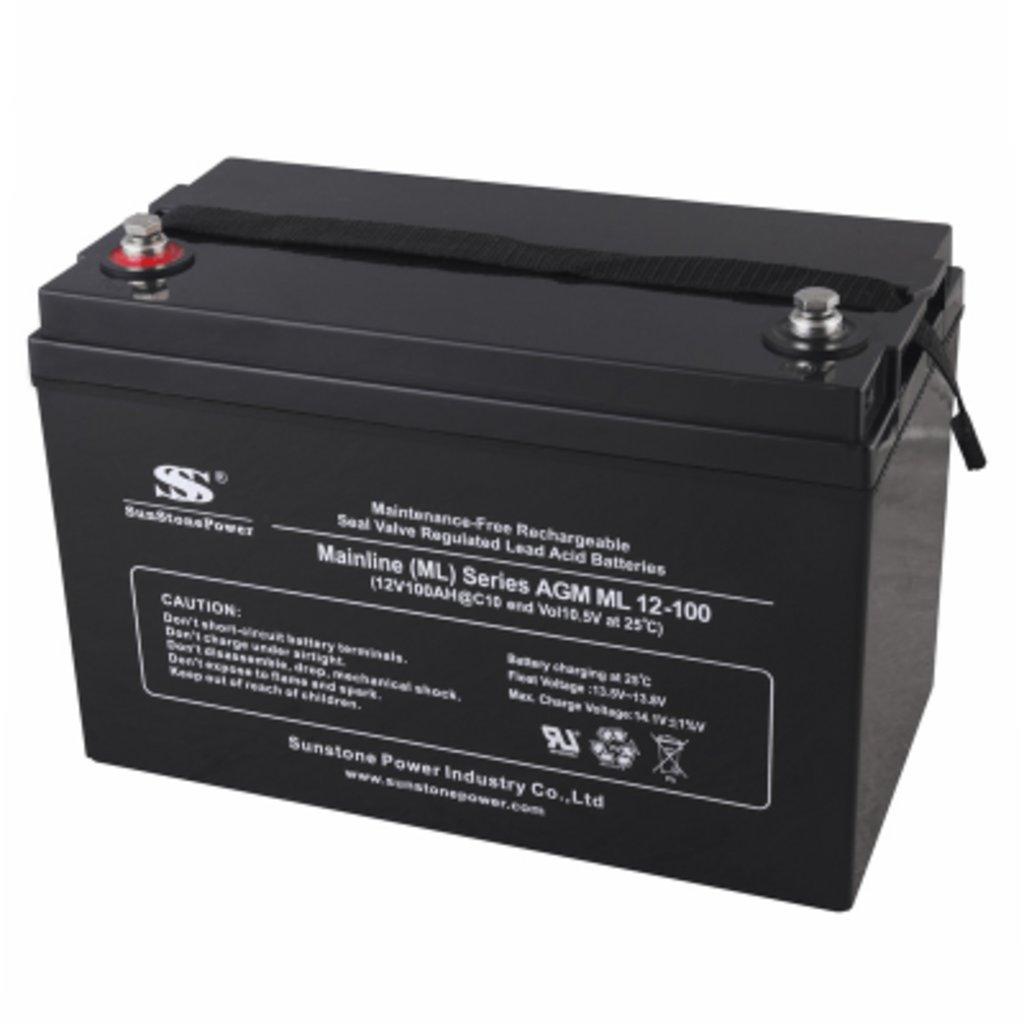 AGM: Аккумулятор SunStonePower ML12-100 в Горизонт