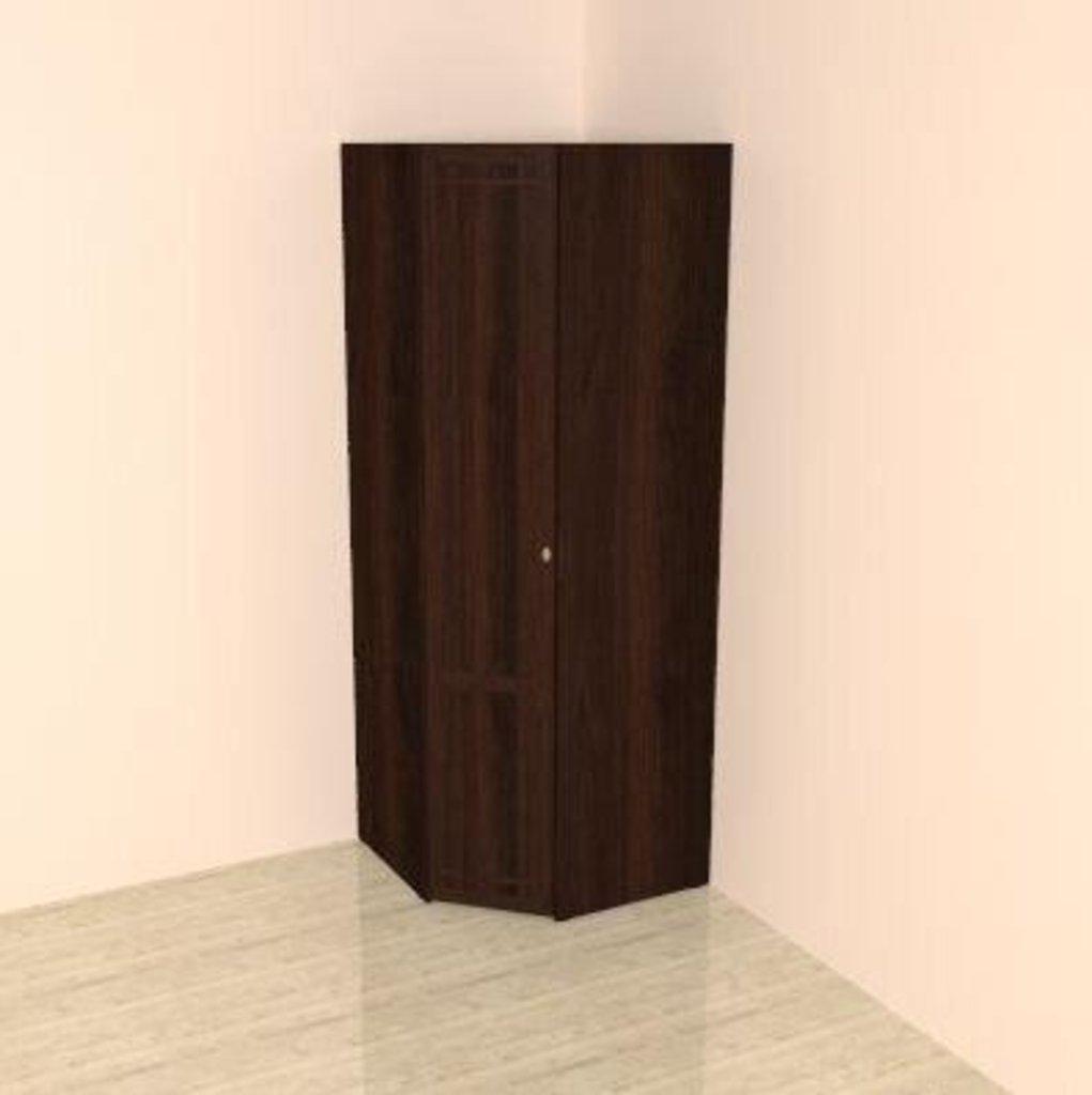 Шкафы для одежды и белья: Шкаф угловой. Фасад Стандарт Sherlock 63 в Стильная мебель