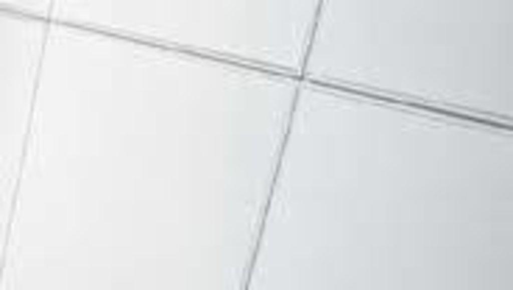 Потолки Армстронг (минеральное волокно): Потолочная плита  600x600x15 (борд гладкая) Cesal в Мир Потолков