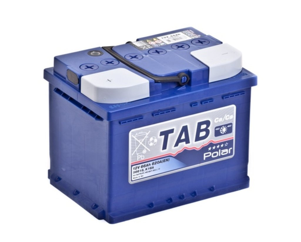 TAB: Аккумулятор TAB POLAR 6СТ- 66 в БазаАКБ