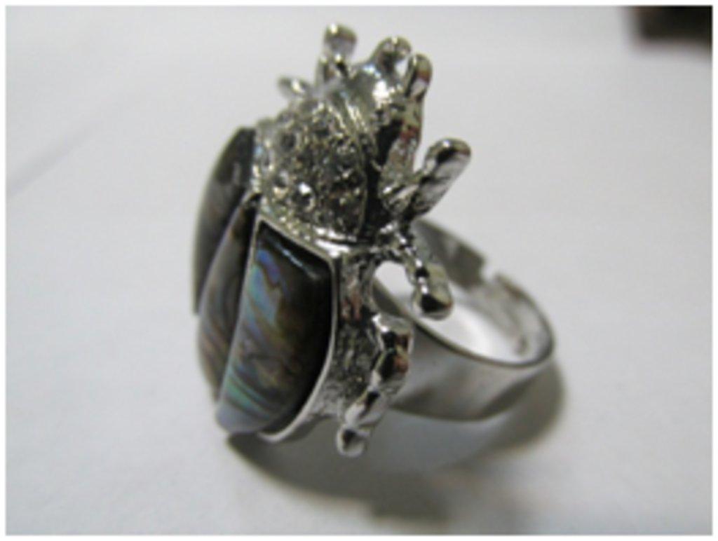 Кольца: Кольцо «Жук – Скарабей» в Шамбала, индийская лавка