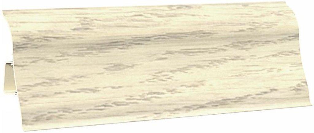 Плинтуса напольные: Плинтус напольный Ecoline 142 дуб белёный в Мир Потолков