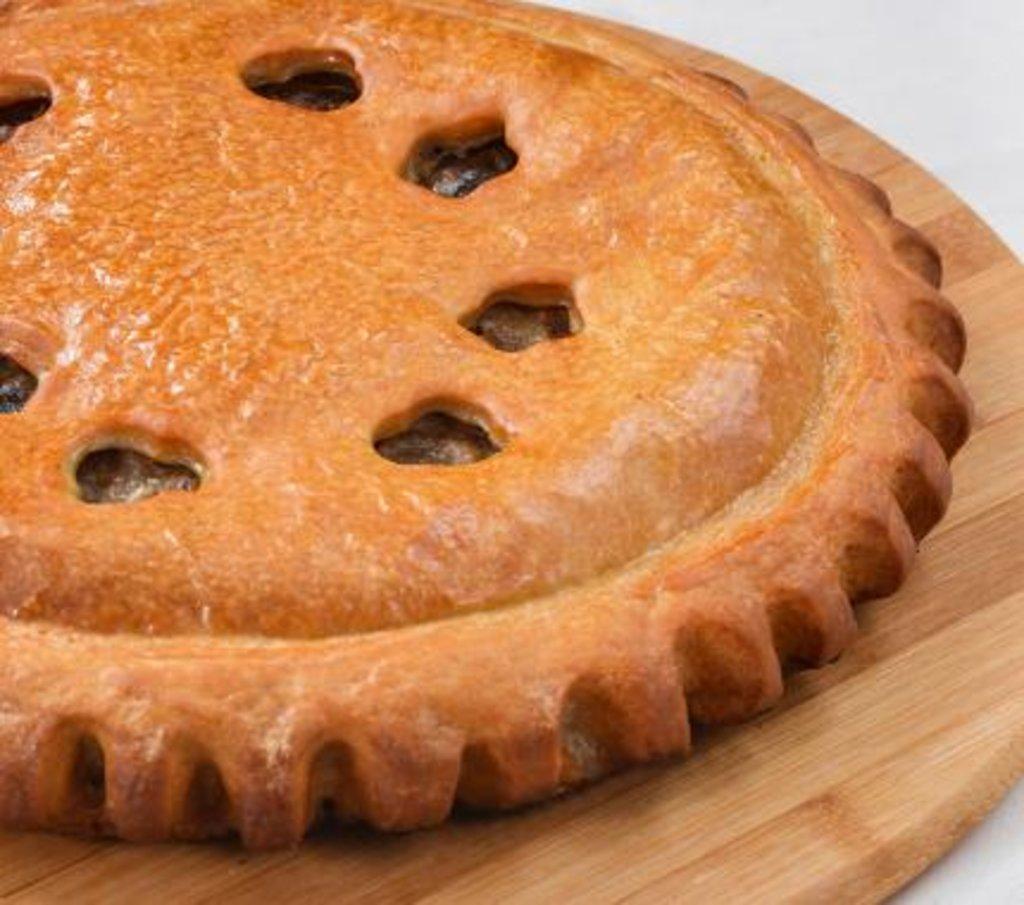 Мясные: Пирог с мясом и баклажанами в Царевы Пироги