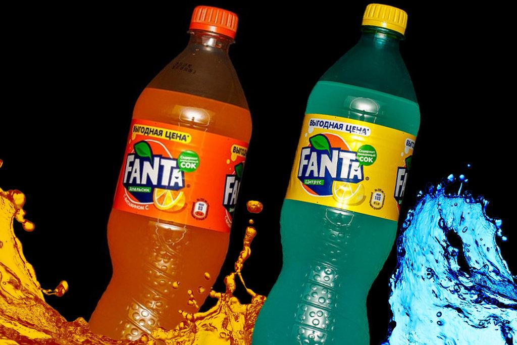 Напитки: FANTA в SUPER KEБAБ