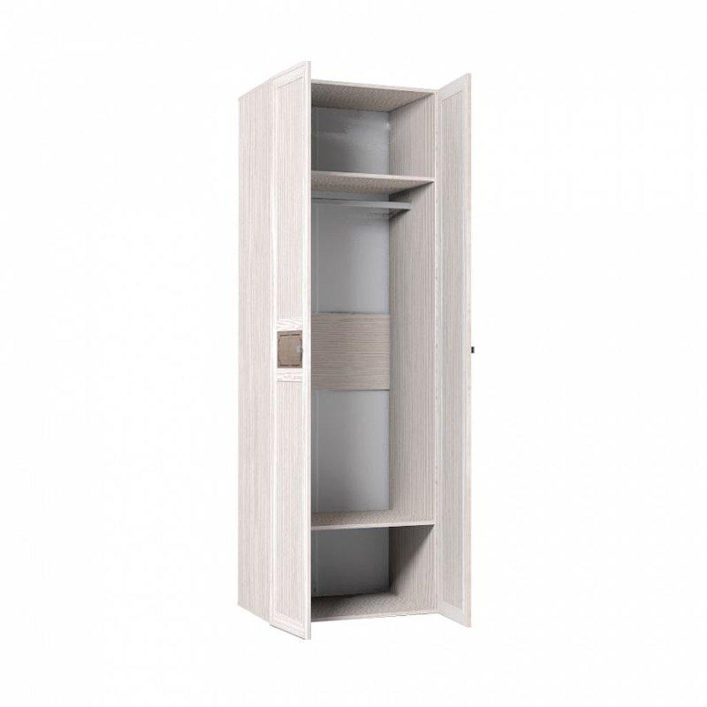 Шкафы для одежды и белья: Шкаф для одежды + ФАСАД Зеркало + Зеркало Карина 54 в Стильная мебель