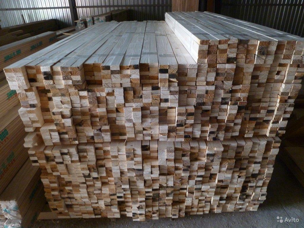 Стройматериалы: Рейка - брус - брусок 20мм на 40 мм в Отделочные материалы из дерева на Беляевской