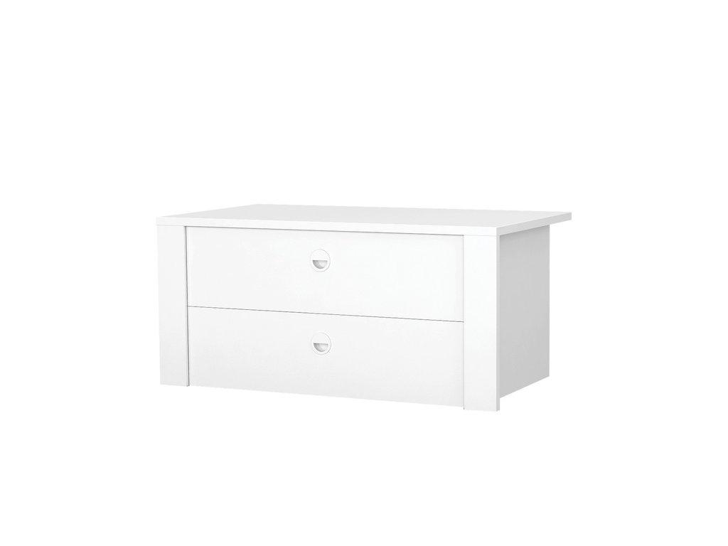 Мебельные направляющие и комплектующие: Блок ящиков для 2-3-хдв. шкафов Белла Вайт в Стильная мебель