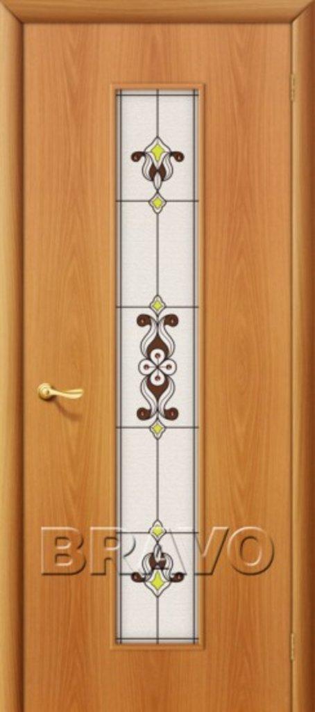 Двери ламинированные BRAVO: 23Х Л-12 (МиланОрех) в STEKLOMASTER