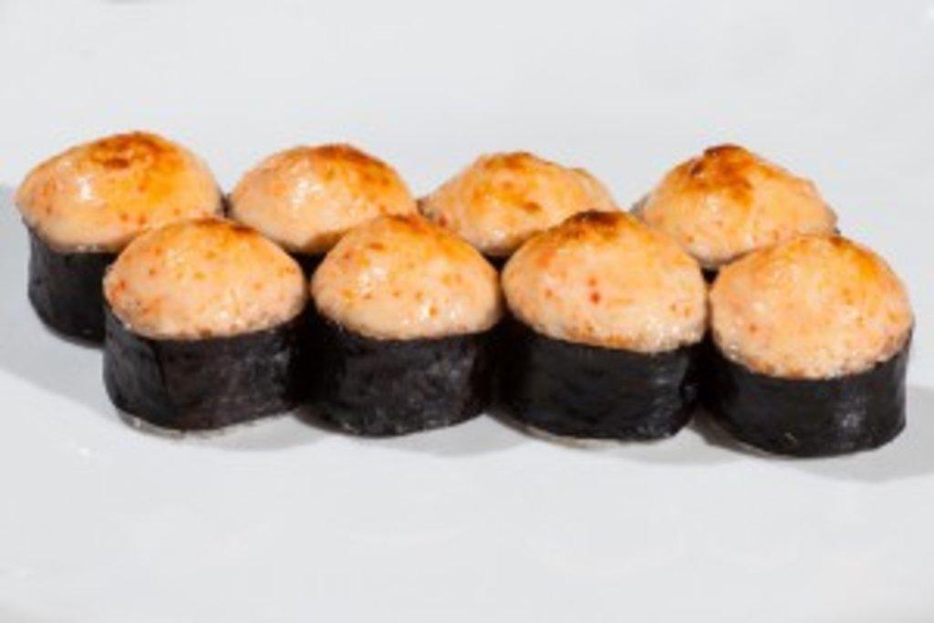 Запеченные роллы: Запеченный с курицей в Sushin