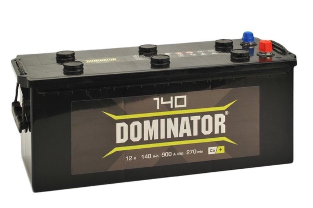 Dominator: Аккумулятор Dominator 6СТ-140 в БазаАКБ
