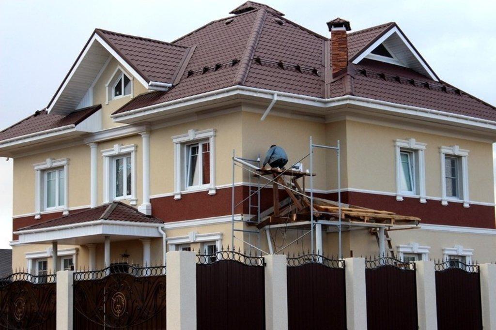 Строительные работы: Фасадные работы в А-профиль, капитальный ремонт и строительство