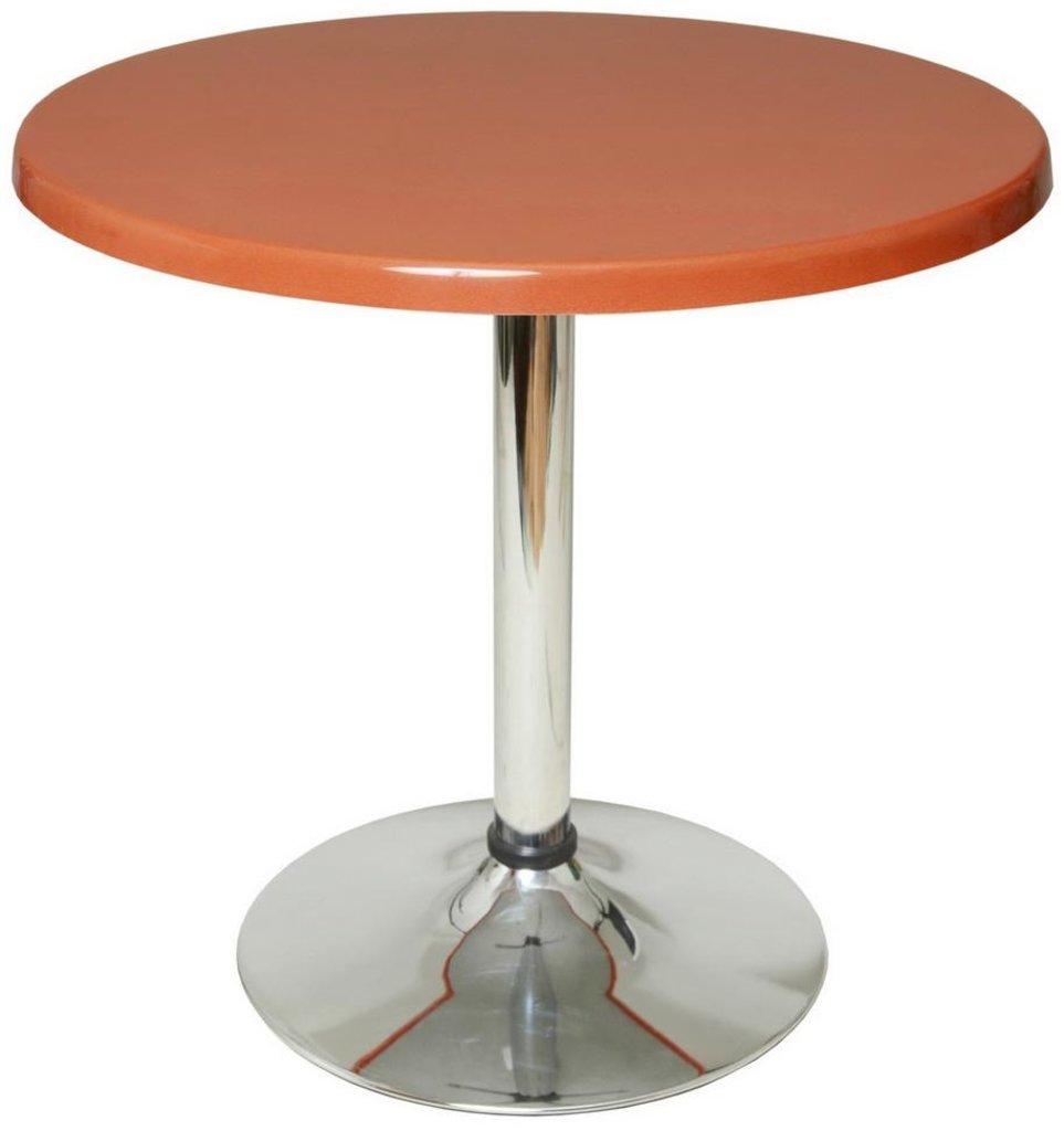 Столы для ресторана, бара, кафе, столовых: Стол круг 65, подстолья 1005 ЕМ хром в АРТ-МЕБЕЛЬ НН