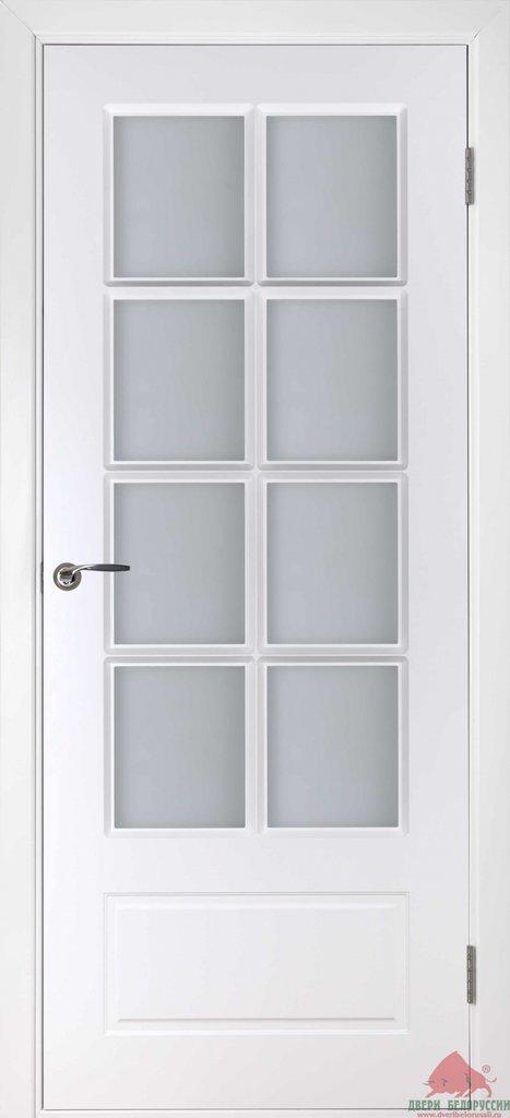 Двери Белоруссии Эмаль: Европа (белая эмаль) в STEKLOMASTER