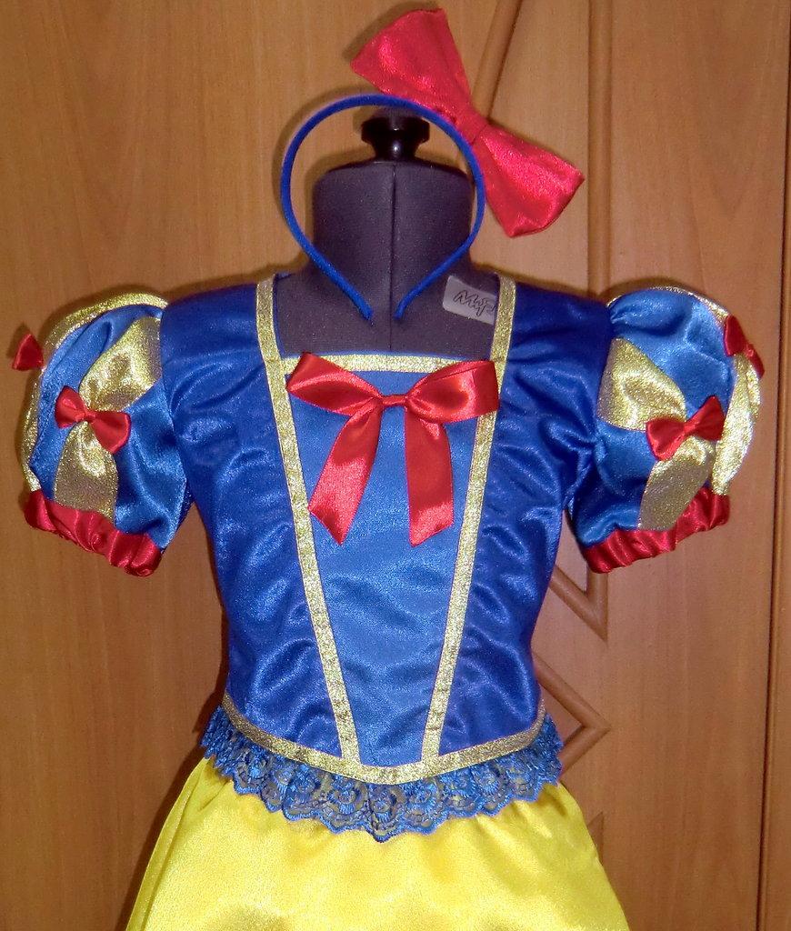 Карнавальные костюмы детские: Белоснежка в Виражи праздников