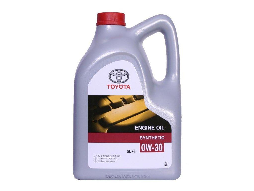 Автомасла TOYOTA: TOYOTA 0W-30 (5.0 л) в Автомасла71