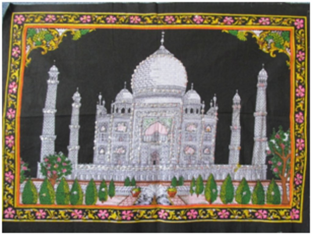 """Постеры: Постер """"Тадж Махал"""" в Шамбала, индийская лавка"""