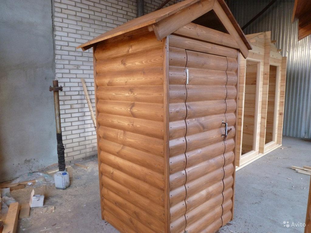 Сантехника и сауна: Туалет деревянный, дачный, уличный в Отделочные материалы из дерева на Беляевской