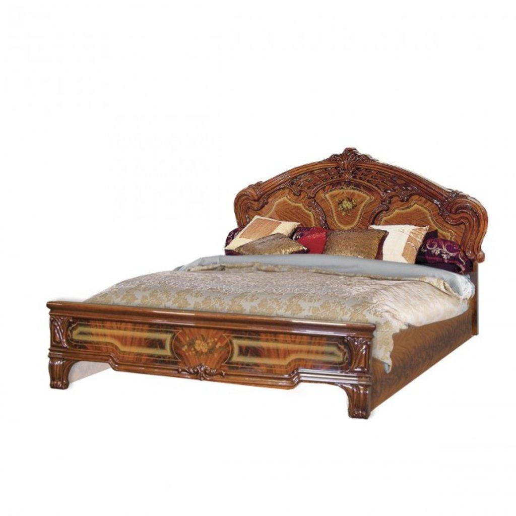 Кровати: Кровать 1,6 м с низкой спинкой с решеткой Роза в Стильная мебель