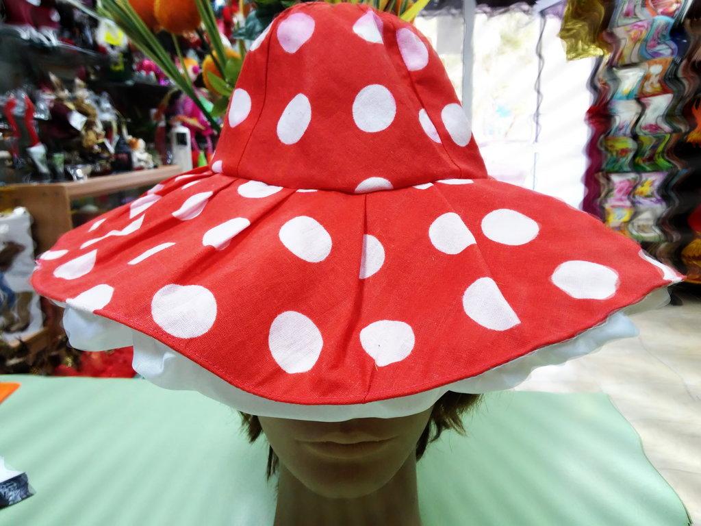 Карнавальные костюмы, общее: Гриб. Шляпа в Виражи праздников