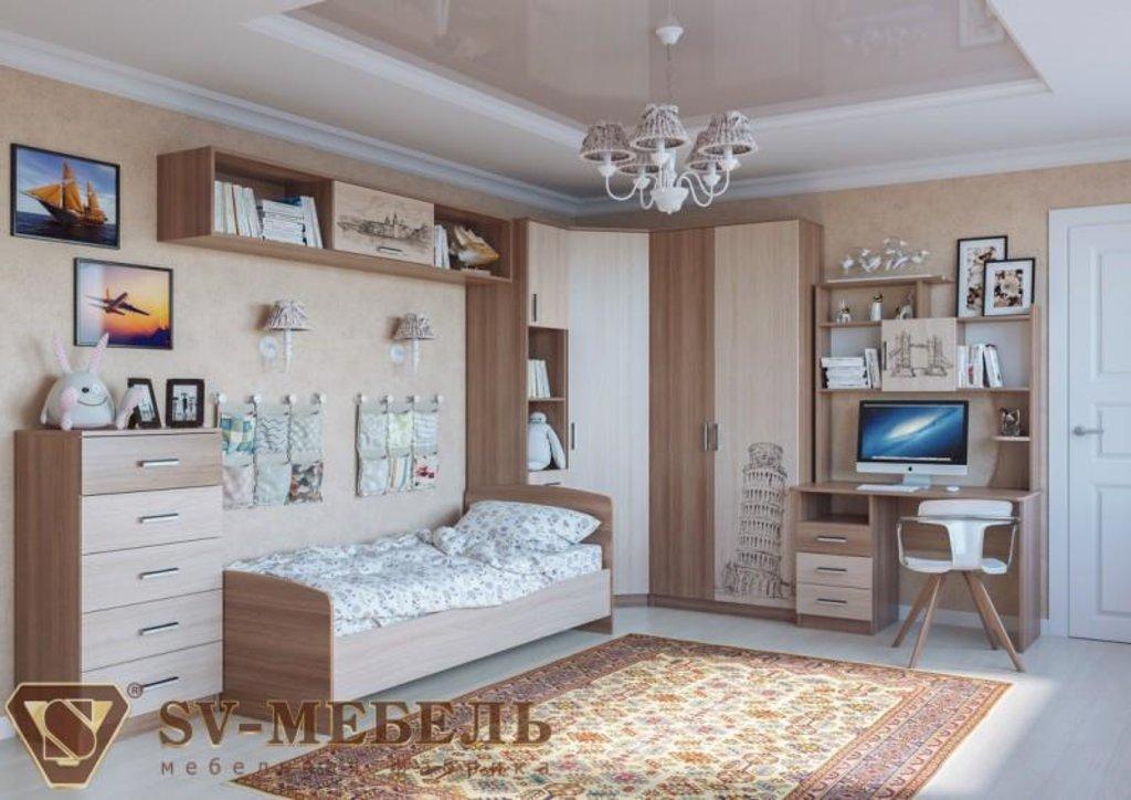 Мебель для детской Город: Полка-надстройка Город в Диван Плюс