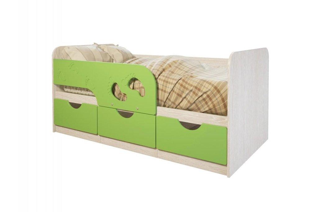 Детские: Кровать детская Минима (Лайм) в Vesa