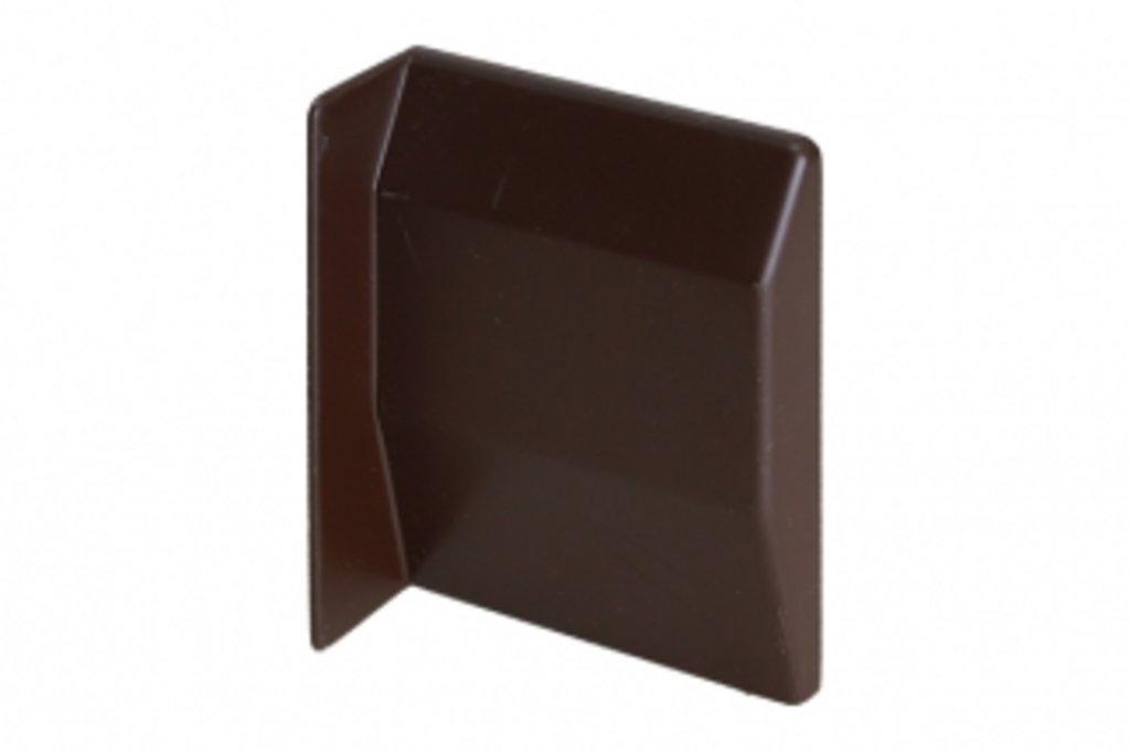 Подвеска каркасов: Крышечка декоративная для подвески арт.807 коричневая, правая в МебельСтрой