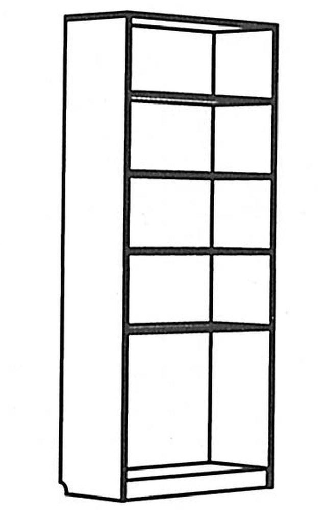 Детские шкафы и стеллажи: Шкаф-комод Денди ЛДСП в Стильная мебель