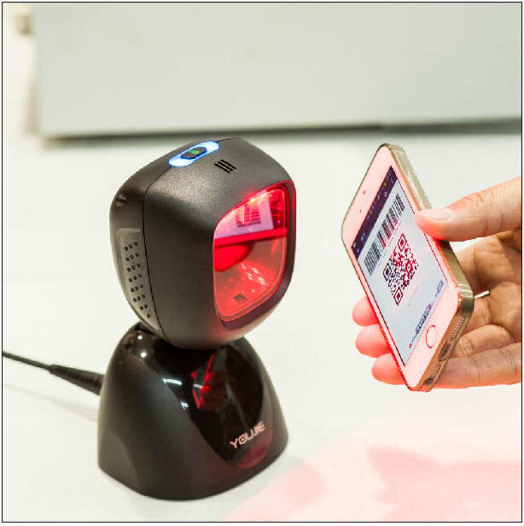 Сканеры штрих-кода: Honeywell Youjie HF600 - 2D проводной cтационарный фотосканер двумерных штрих кодов (поддерживает ЕГАИС) в Рост-Касс