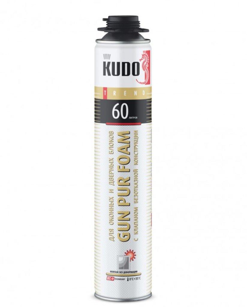 Монтажные пены: Пена монтажная KUDO TREND WINDOW 60 проф. зимняя (12) KUPТW10W60, шт в Строймастер-56