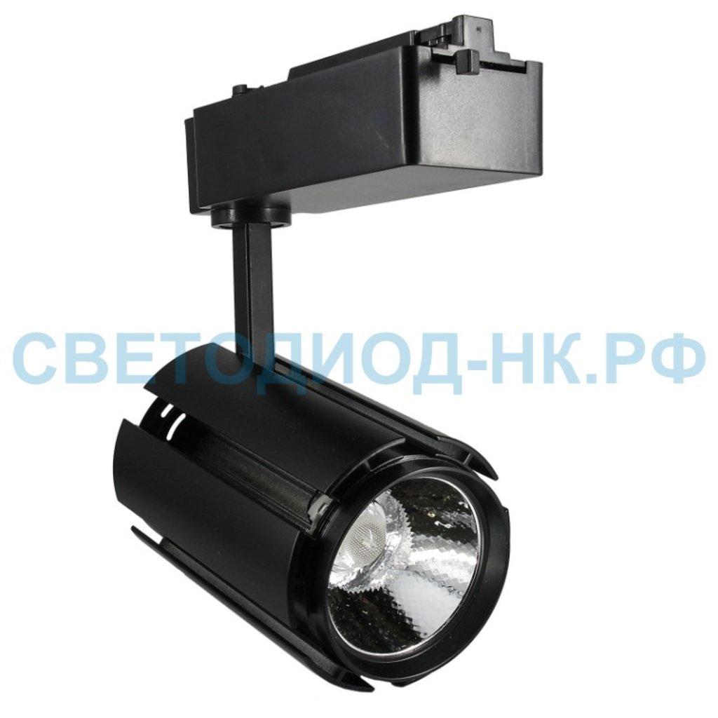 Трековые светильники: Светодиодный светильник трековый BVD GDD-128 30Вт, 5000K (white) в СВЕТОВОД