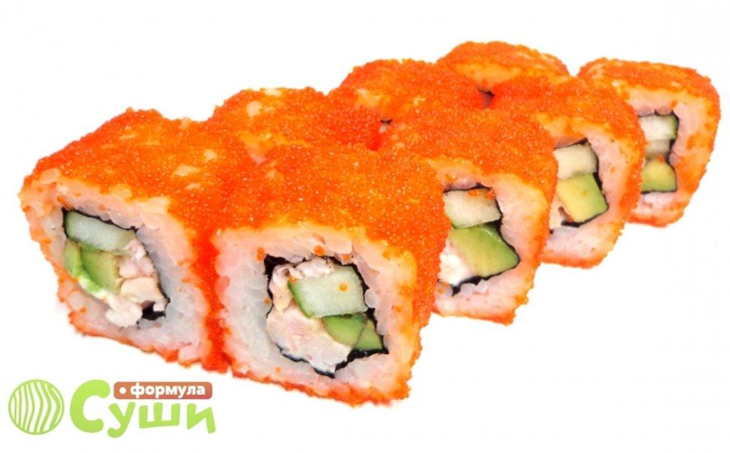 Роллы: КАЛИФОРНИЯ КРЕВЕТКА в Формула суши