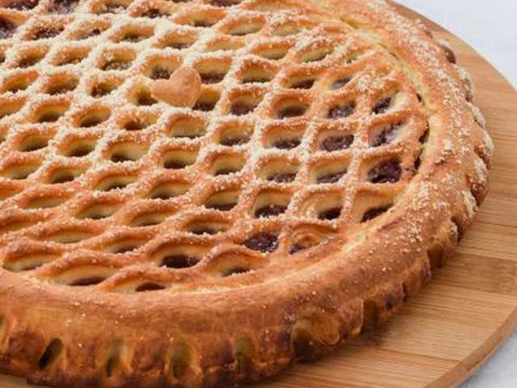 Сладкие: Пирог с клубникой и киви в Провиант