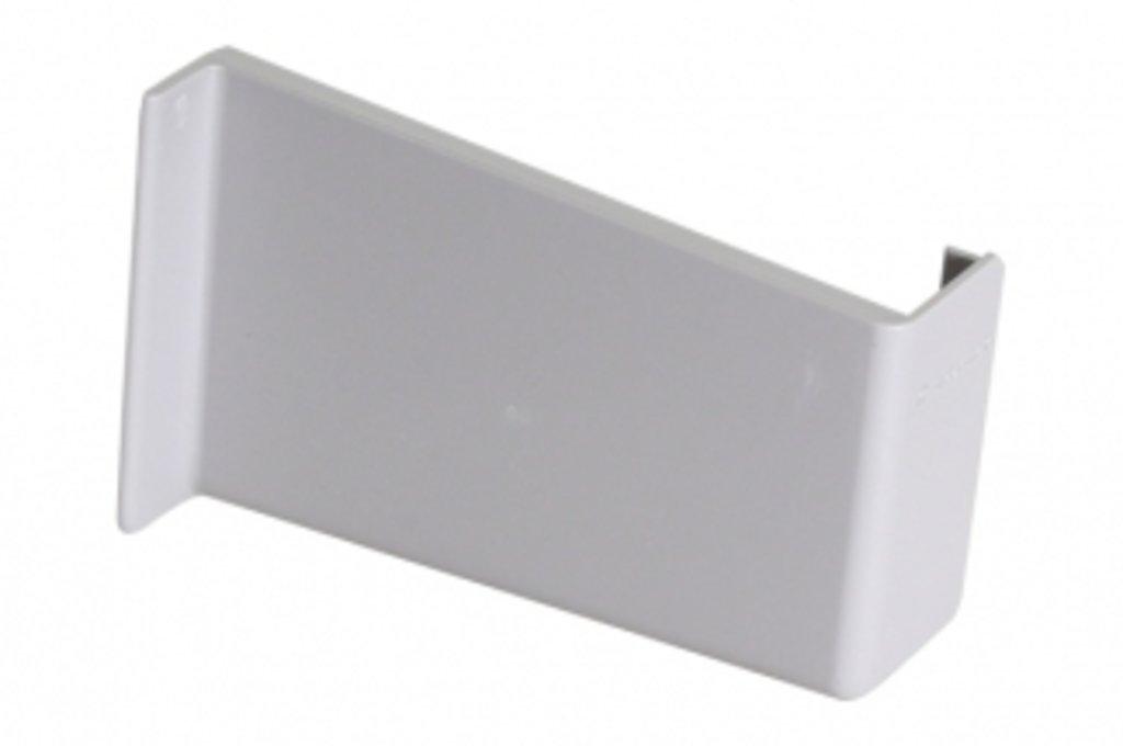 Подвеска полок: Крышечка декоративная для подвески арт.806 серая, правая в МебельСтрой