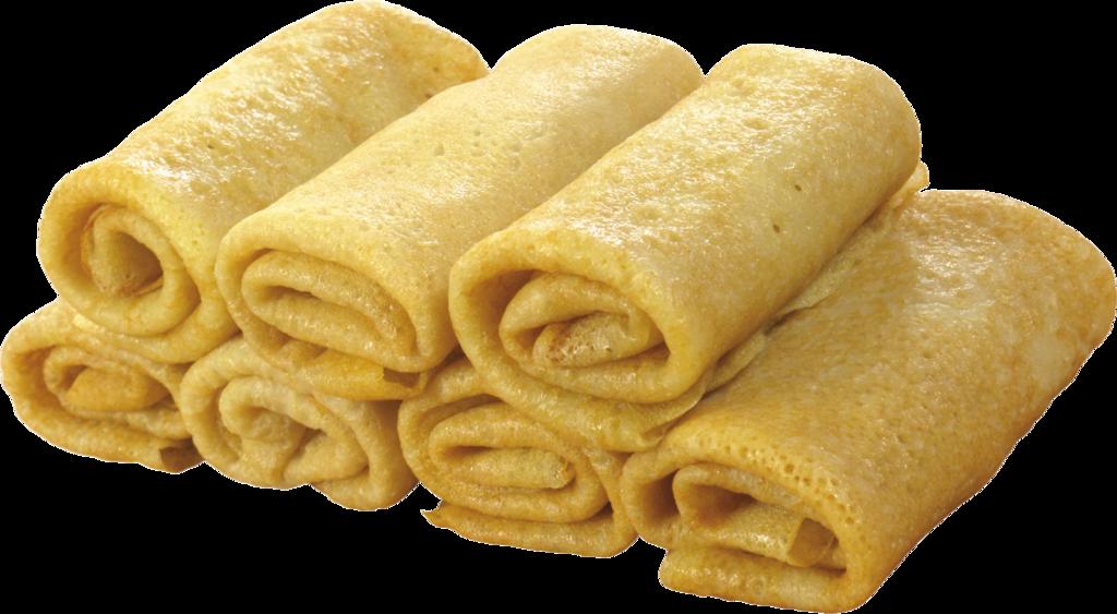 Блины: Блины с мясом и рисом в Обедовъ