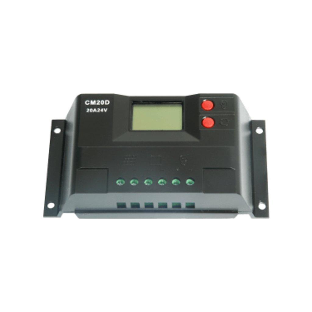 ШИМ контроллеры: Контроллер заряда JUTA CM20D 10А в Горизонт