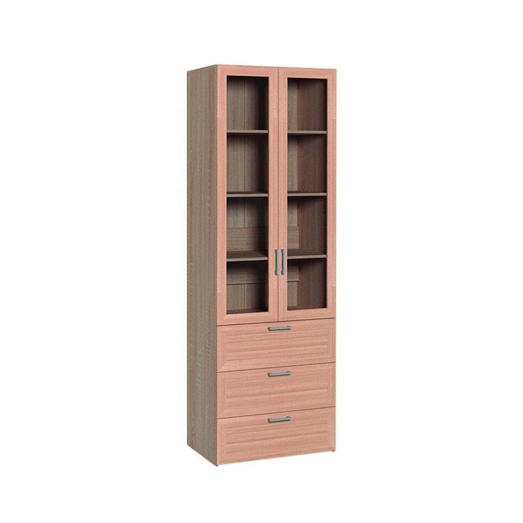 Буфеты и серванты: Шкаф для посуды с тремя ящиками Регата 13 в Стильная мебель