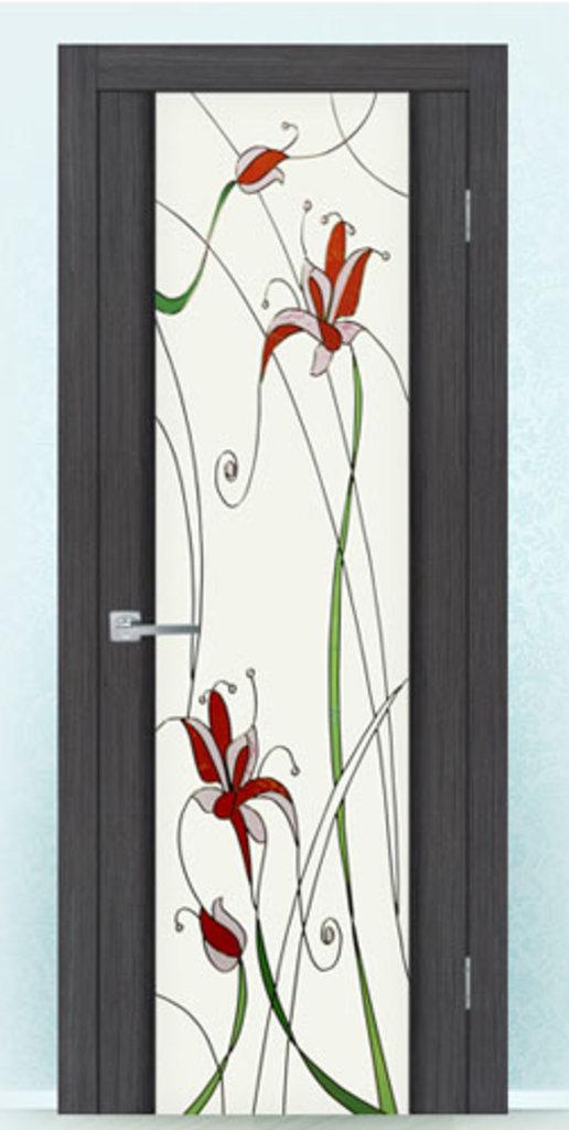 Двери на заказ: Дверь триплексная «Меланит» в ДВЕРИ со склада