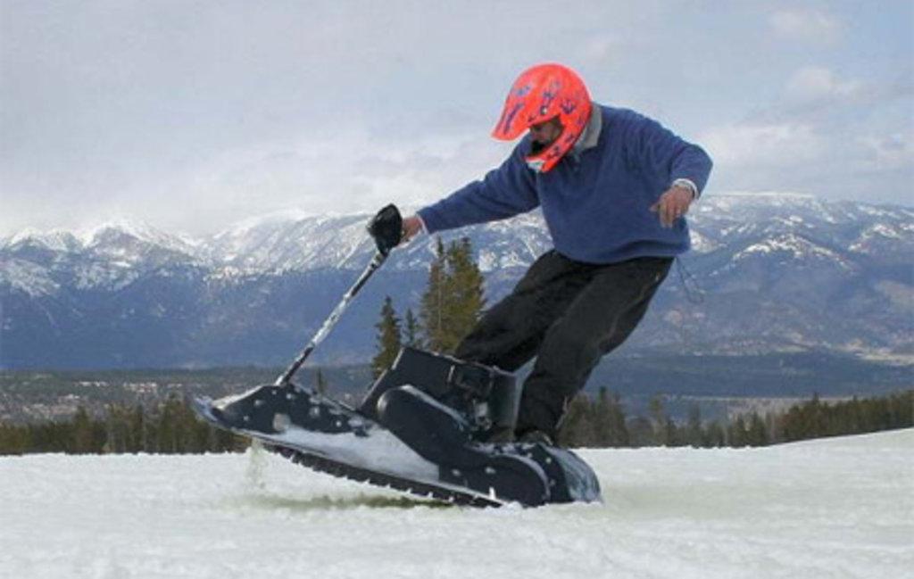 Спортивный зимний отдых: Мотосноуборд в Seventh Heaven