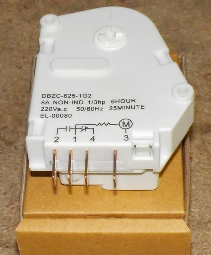 Запчасти для холодильников: Таймер холодильника Stinol механический, аналог PARAGON NK200121, DBZC-625-1G2, DBZC625 в АНС ПРОЕКТ, ООО, Сервисный центр