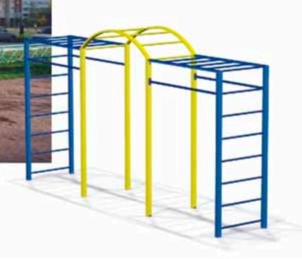 Спортивные товары, общее: Детские спортивные комплексы для улицы в Детские игровые площадки и мягкие модули