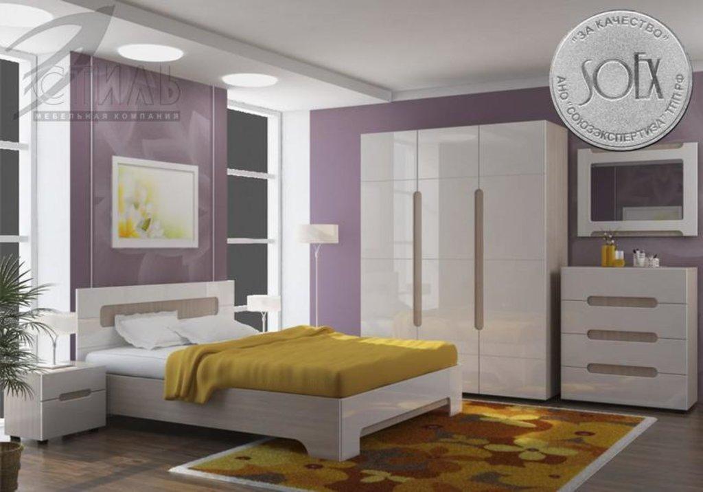 Мебель для спальни Палермо: Тумба прикроватная Палермо в Диван Плюс