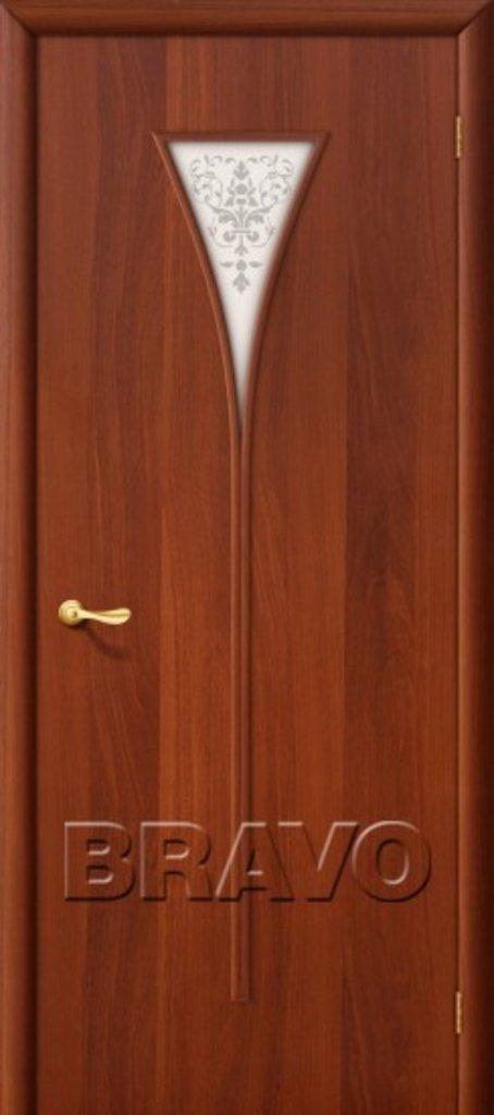 Двери ламинированные BRAVO: 3С Л-11 (ИталОрех) в STEKLOMASTER