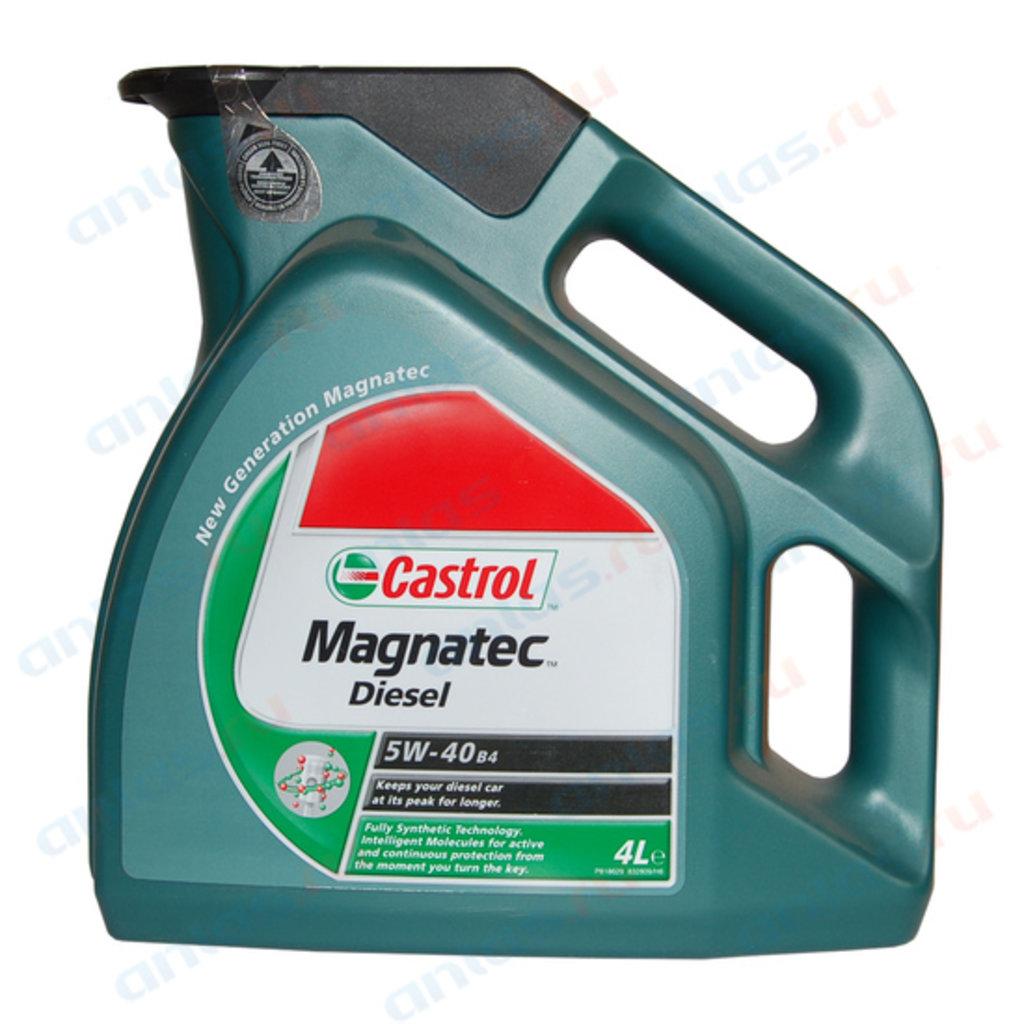 ГСМ: Масло Castrol 5/40 Magnatec DPF дизель синтетическое 4 л в MОТОР