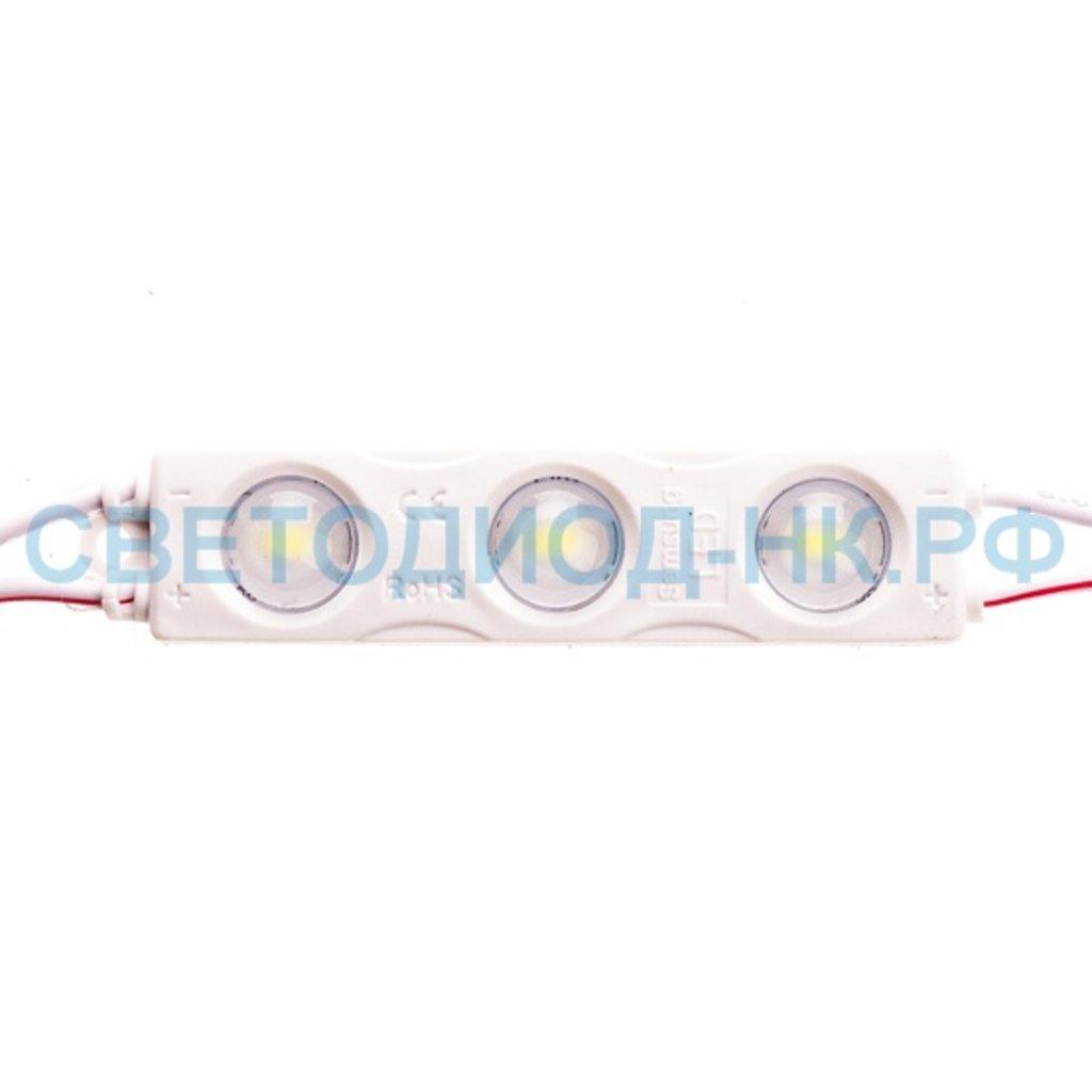 Светодиодные пиксели, модули: Светодиодный модуль BVD SMD-5730-3L-LENS-NW-D в СВЕТОВОД